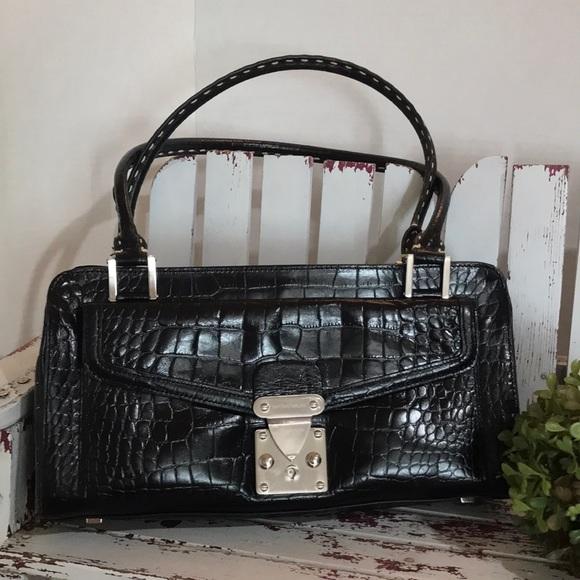 ANTONIO MELANI Handbags - Antonio Melani Leather Satchel